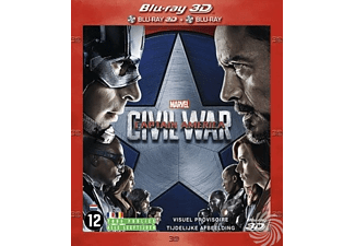 Captain America - Civil War (3D) | Blu-ray