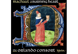 Orlando Consort - A Burning Heart - (CD)