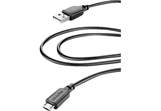 CELLULAR LINE CL Data Cable 0.6 Black - (USBDATA06MUSBK)