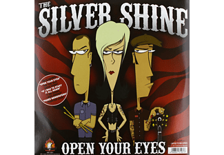 The Silver Shine, The Rocketz - Open Your Eyes Split - (Vinyl)