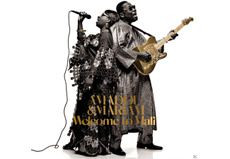 Amadou & Mariam - Welcome To Mali [LP + Bonus-CD]