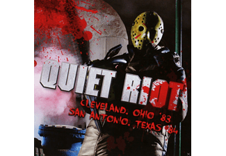 Quiet Riot - Cleveland / Ohio 83 / San Antonio / Texas 84 - (CD)