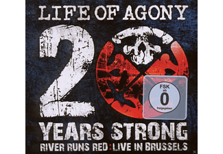 Life Of Agony - 20 Years Strong:River Runs Red Live In Brussels [CD + DVD Video]