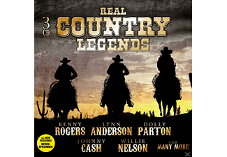 VARIOUS - REAL COUNTRY LEGENDS - (CD)