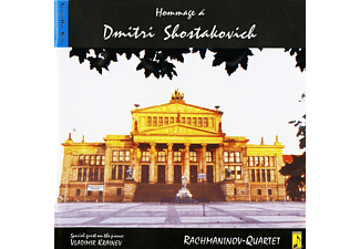 Rachmaninoff-Quartet - Hommage A Dmitri Shostakovich - (Maxi Single CD)