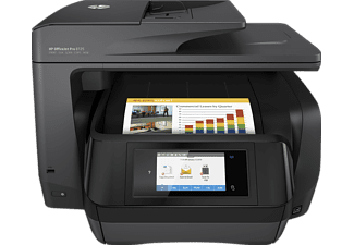 HP OfficeJet Pro 8725, 4-in-1 Multifunktionsdrucker, Schwarz