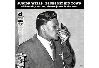 Junior Wells - Blues Hit Big Town (LP) - (Vinyl)