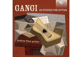 Andrea Pace - 22 Studies For Guitar - (CD)