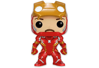 Marvel Pop! Vinyl Figur Iron Man Unmasked Civil War