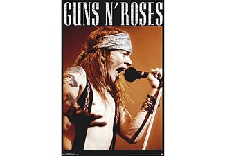 Guns N' Roses Poster Axl Rose Live on stage