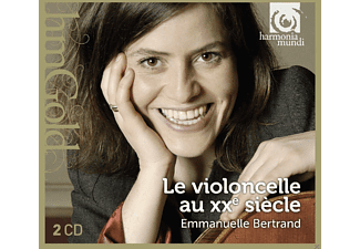 Emmanuelle Bertrand - 20th Century Music For Solo Cello - (CD)