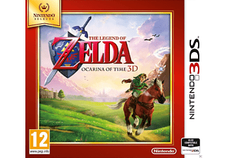 The Legend Of Zelda: Ocarina Of Time Selects Nintendo 3DS