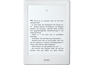 KINDLE eBook Reader WLAN, weiß (B0184OCF3S)