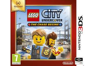Lego City Undrcover The Chase Begins Selects Nintendo 3DS