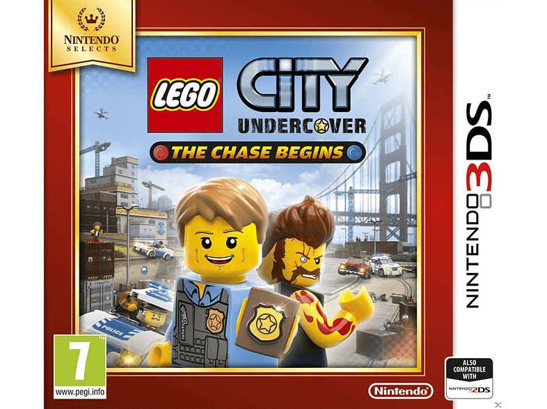 Lego City Undrcover The Chase Begins Selects Nintendo 3DS gaming games nintendo 2ds  3ds games gaming φορητές κονσόλες games 2ds  3ds