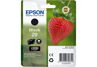 EPSON Singlepack Black 29 Claria Home Ink - (C13T29814010)