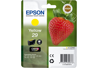 EPSON Singlepack Yellow 29 Claria Home Ink - (C13T29844010)