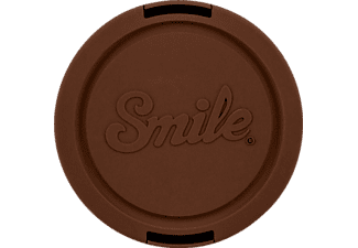 SMILE Indi 67 mm Objektivdeckel, Braun