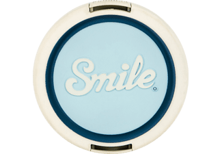 SMILE Atomic Age 67 mm Objektivdeckel, Weiß/Blau
