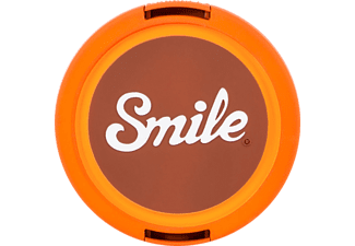 SMILE 70S HOME 55 mm Objektivdeckel, Orange/Braun