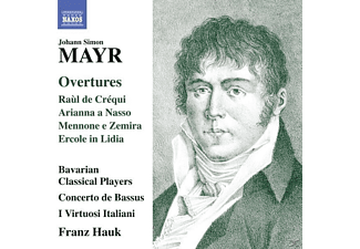 Franz/bavarian Classical Players/+ Hauk - Ouvertüren - (CD)