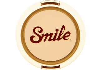 SMILE RETRO 55 mm Objektivdeckel   , Weiß