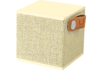 FRESH N REBEL Rockbox Cube Fabriq Edition Bluetooth Lautsprecher Gelb