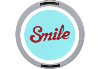 SMILE MOD 52 mm Objektivdeckel, Blau