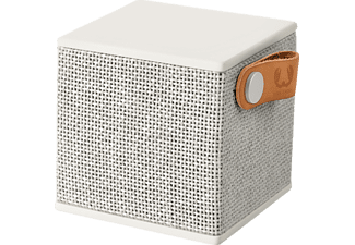 FRESH N REBEL Rockbox Cube Fabriq Edition Bluetooth Lautsprecher Grau