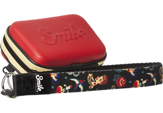 SMILE Pin Up Tasche , Rot