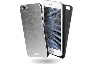 SBS MOBILE SBS MOBILE Alluminium iPhone 6/6S Case - Silver