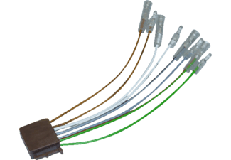 AIV Adapter Kabel ISO auf ASIA - Autoradio - Universal - 4 ...