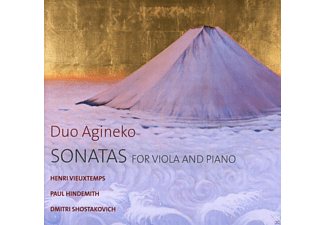 Duo Agineko - Sonatas For Viola And Piano [CD]