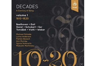 VARIOUS - Decades.A Century of Song,vol.1 - (CD)