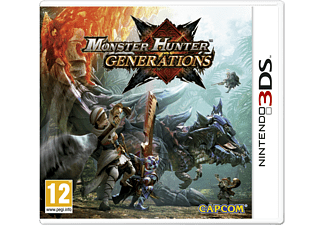 Monster Hunter Generations 3DS Nintendo 3DS