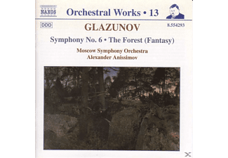 Moscow So, Alexander/moso Anissimov - Sinfonie 6/The Forest - (CD)