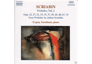 Evgeny Zarafiants - Preludes Vol.2 - (CD)