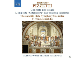Thessaloniki, Myron/thessaloniki State So Michailidis - Concerto Dell'Estate - (CD)