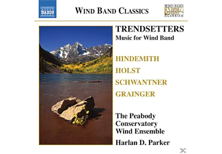 Peabody Conservatory Wind Ensemble - Trendsetters - (CD)