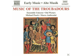 VARIOUS, Ensemble Unicorn/Oni Wytars/+ - Musik Der Troubadoure - (CD)