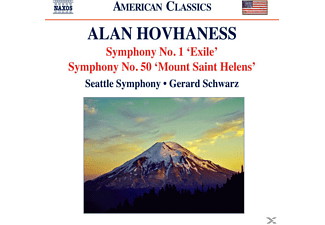 The Seattle Symphony - Sinfonie Nr. 1, 50 - (CD)