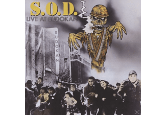 S.O.D. - Live At Budokan [CD]