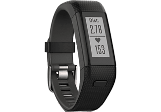 GARMIN Vivosmart HR+ Black XL - (010-01955-51)