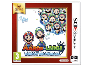 NINTENDO Selects Mario & Luigi: Dream Team Bros. 3DS