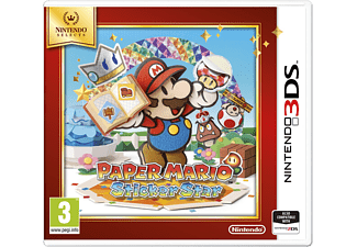 NINTENDO Selects Paper Mario: Sticker Star 3DS
