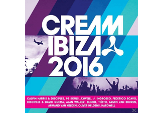 VARIOUS - Cream Ibiza 2016 - (CD)
