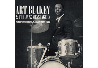 Art Blakey, The Jazz Messengers - Rutgers University, N.J., April 15th 1969 [CD]