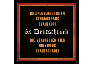 VARIOUS - 6 x Deutschrock - (CD)