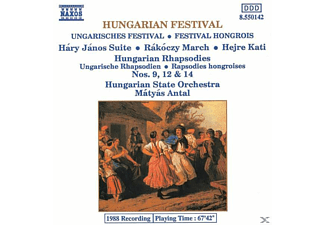 VARIOUS, Antal/UNSO - Ungarisches Festival - (CD)