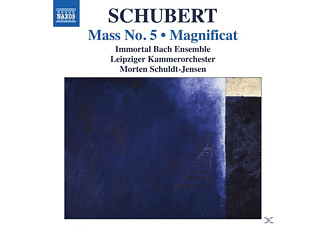 VARIOUS, Schuldt-Jensen/Immortal Bach Ensemble - Messe 5/Magnificat - (CD)
